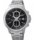 Seiko SKS445P1 100m Stainless Steel Chronograph Stopwatch Date Watch